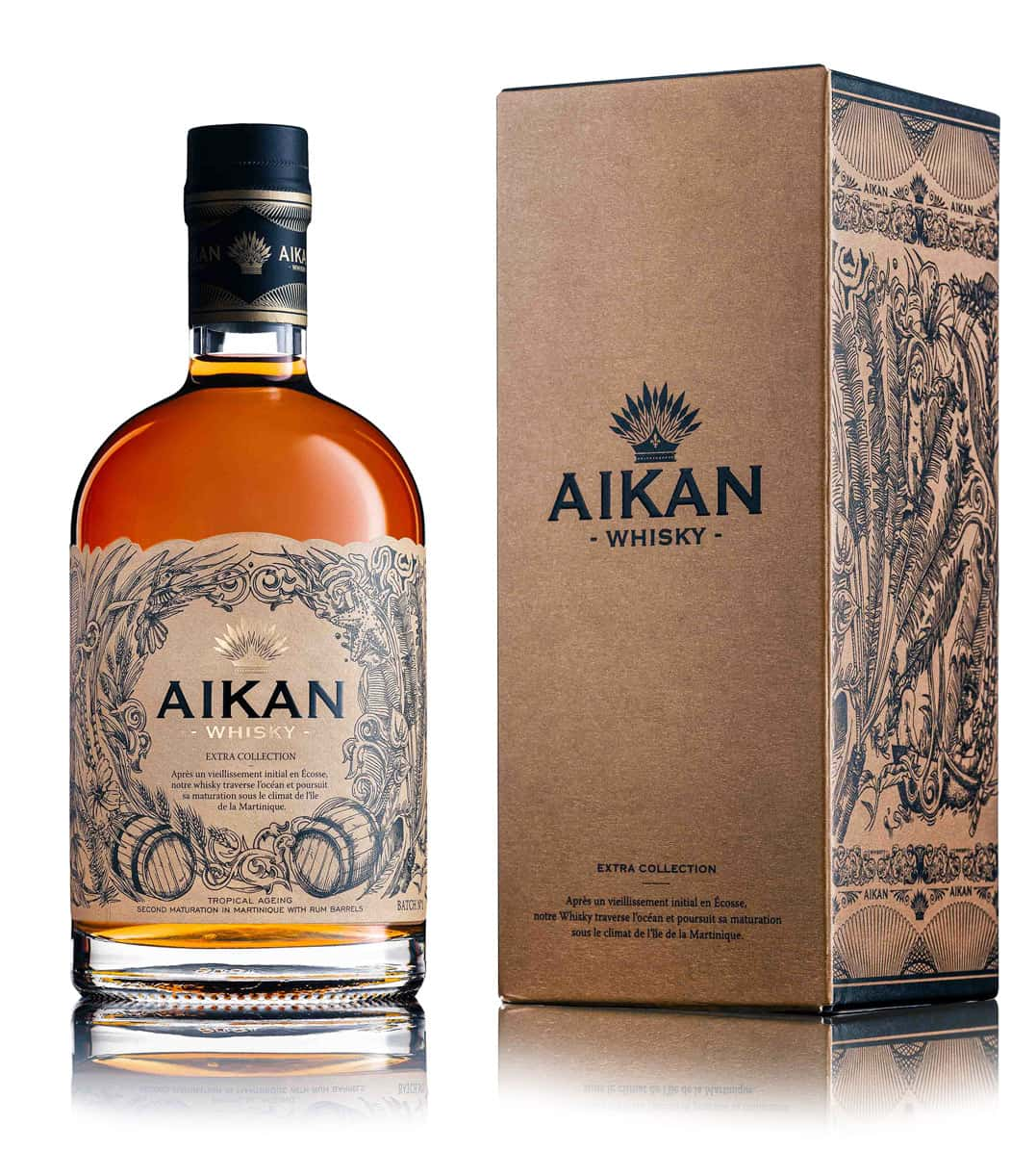aikan whisky extra collection Belgique